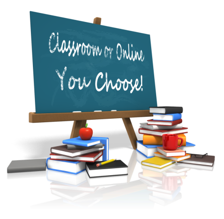 classroom or online - you choose - custom_board_education_books_14423